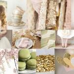Inspiration Board: Sparkle & Blush