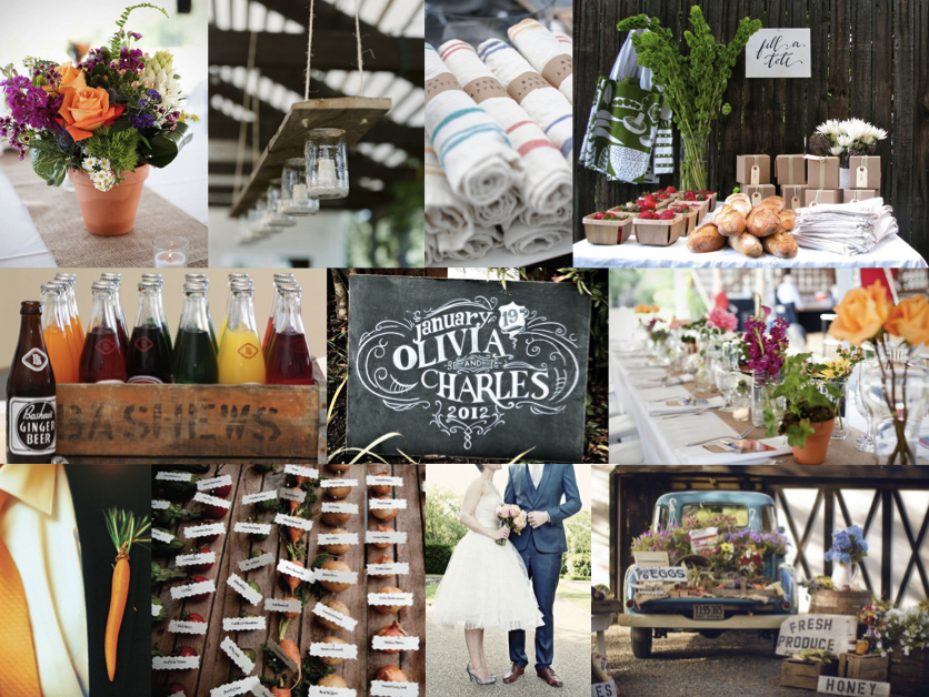 Inspiration Board: Market Day | SouthBound Bride