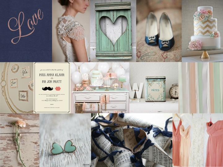 Inspiration Board: Mint to Be | SouthBound Bride