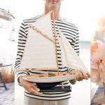 Inspiration Board: Sand & Stripes