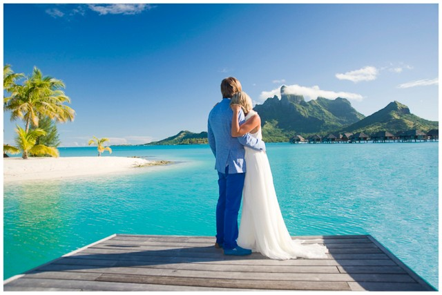 Bora Bora Honeymoon Shoot | SouthBound Bride