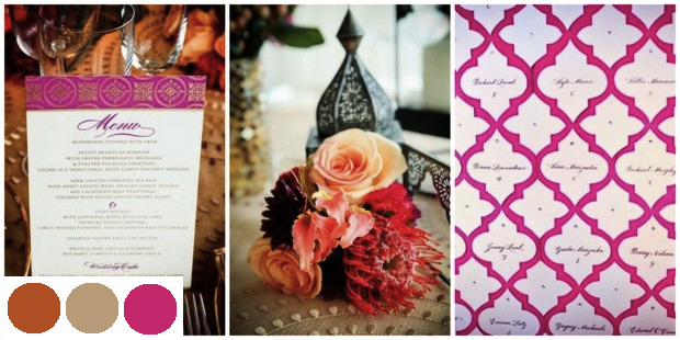 Moroccan Themed Wedding Details | SouthBound Bride