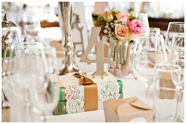 Shabby Chic Wedding Reception Ideas