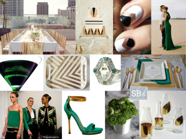 Inspiration Board: Gucci Green | SouthBound Bride