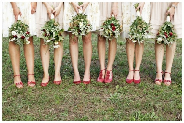 Mismatched Bridesmaid Accessories Part 2 {Shoes} | SouthBound Bride