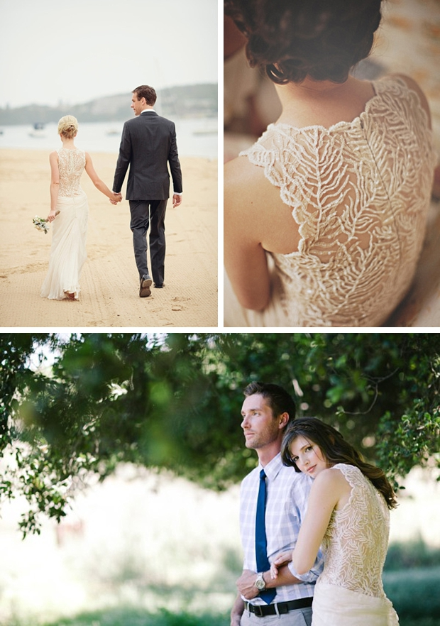 A Beautiful Illusion {Portrait Back Wedding Dresses} | SouthBound Bride