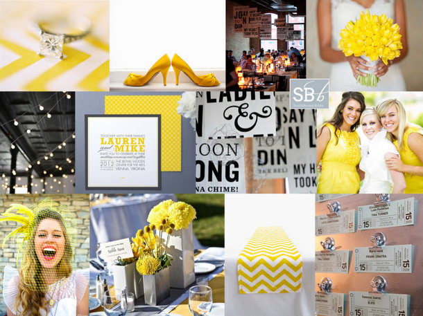 Inspiration Board: And It Was All Yellow | SouthBound Bride