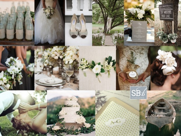 Inspiration Board: Green Light | SouthBound Bride
