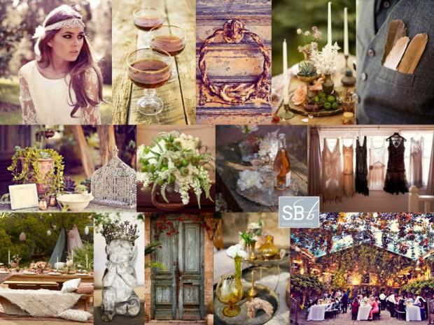 Inspiration Board: La Boheme | SouthBound Bride