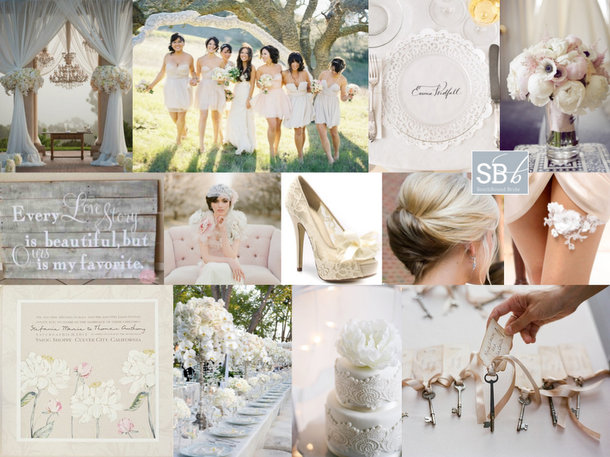 Inspiration Board: Love Comes Softly | SouthBound Bride