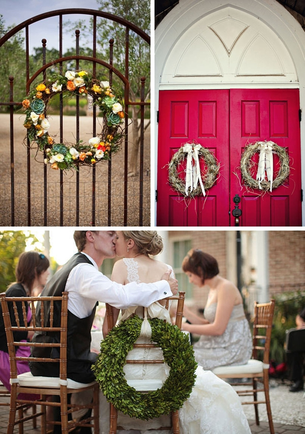 Wedding Wreaths | SouthBound Bride