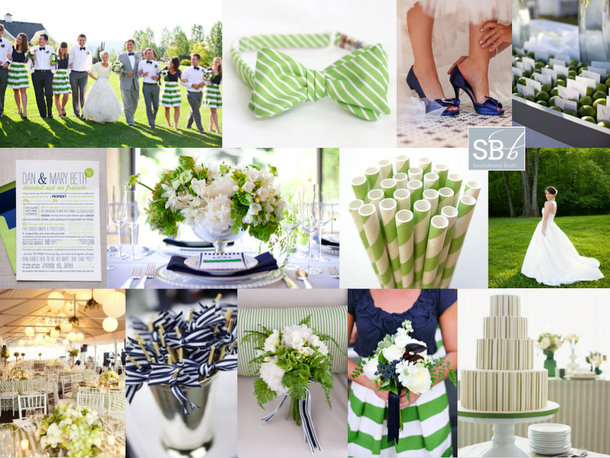 Inspiration Board: A Preppy Romance | SouthBound Bride
