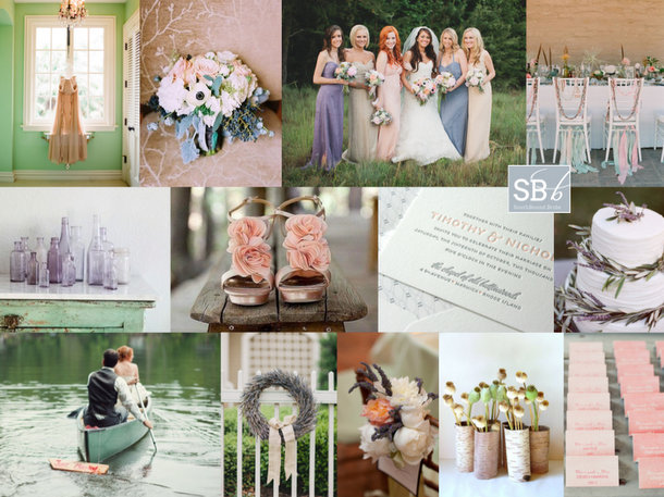 Inspiration Board: Country Elegance | SouthBound Bride
