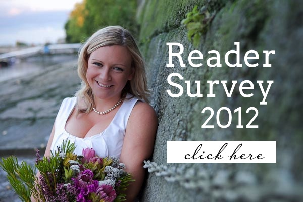 Reader Survey 2012 | SouthBound Bride