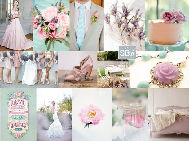 Colour Story: Spring Pastels | SouthBound Bride