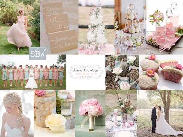 Inspiration Board: Summer Breeze | SouthBound Bride