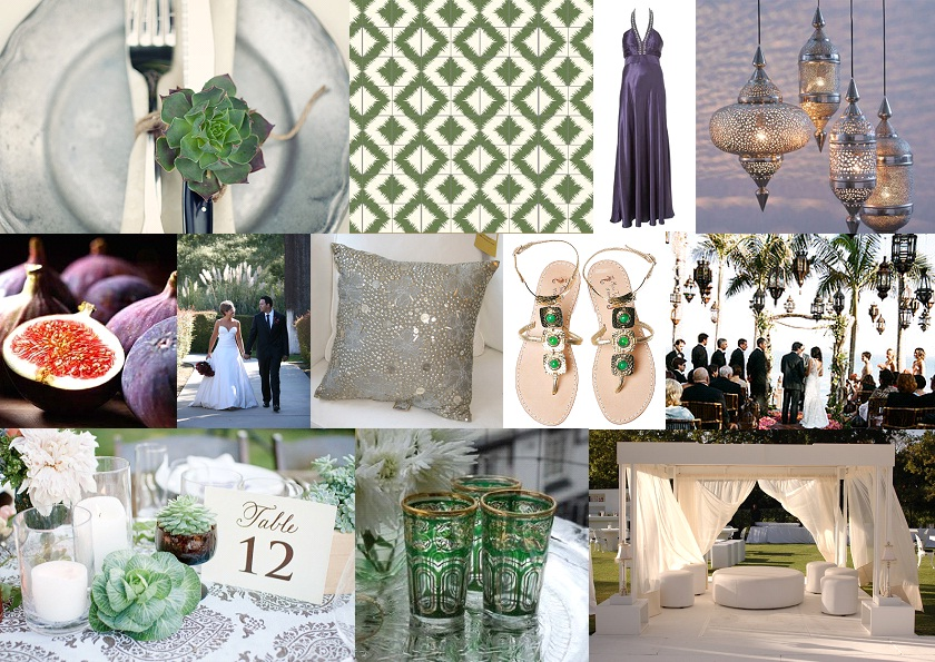 Inspiration Board Revisited {Modern Moroccan} | SouthBound Bride
