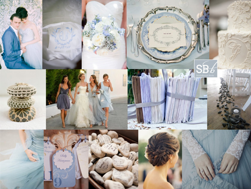 Inspiration Board: Skipping Stones | SouthBound Bride