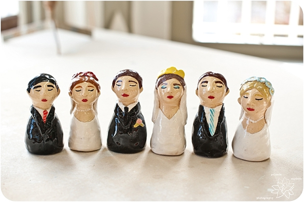 Supplier Spotlight: Sessi Bee Ceramics Cake Toppers | SouthBound Bride