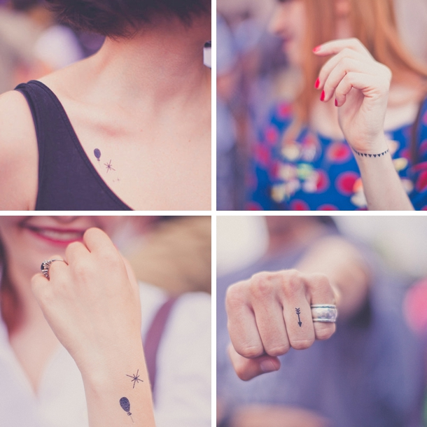Supplier Spotlight: Tattyoo Temporary Art Tattoos | SouthBound Bride