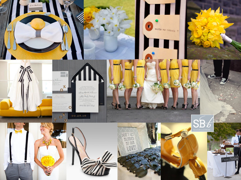 Inspiration Board: Mellow Yellow | SouthBound Bride