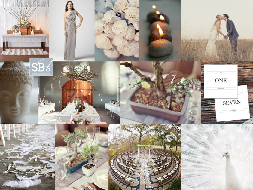 Inspiration Board: Zen Neutrals | SouthBound Bride