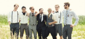 mismatched groomsmen feature image