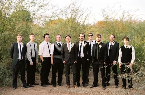 Mismatched Groomsmen | SouthBound Bride