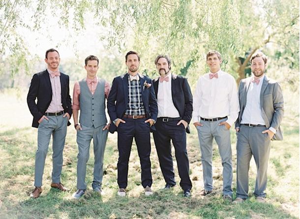 southboundbride mismatched groomsmen 008 Mismatched Groomsmen
