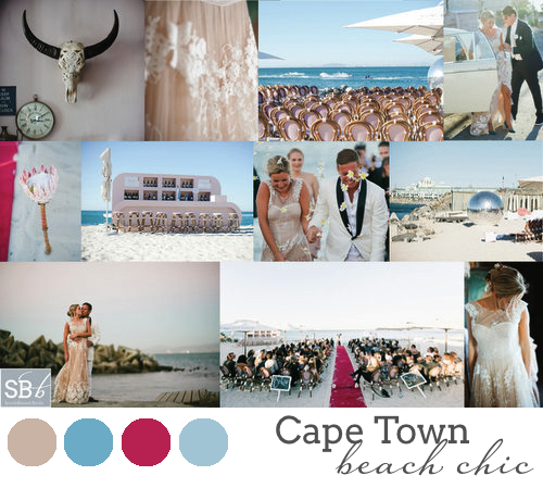 South African Wedding Style #3: Cape Town Beach Chic | SouthBound Bride