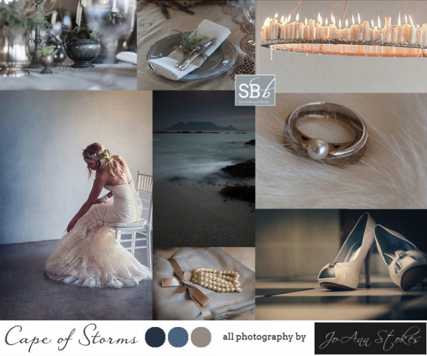 Inspiration Board: Cape of Storms | SouthBound Bride