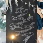 Inspiration Board: Navy & Chalkboard