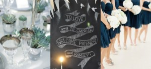 navy chalkboard feature image