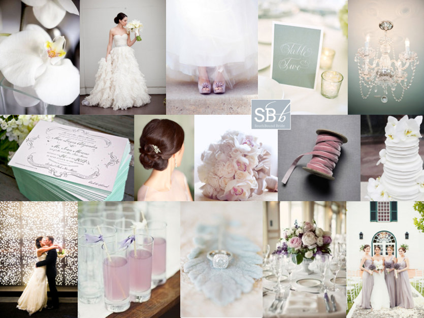 Inspiration Board: Lovelier Than Lilacs | SouthBound Bride