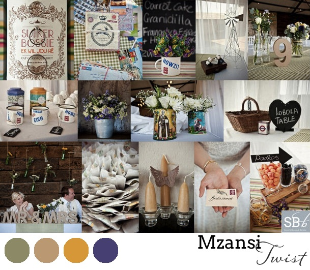 South African Wedding Style #5: Handmade with an Mzansi Twist | SouthBound Bride