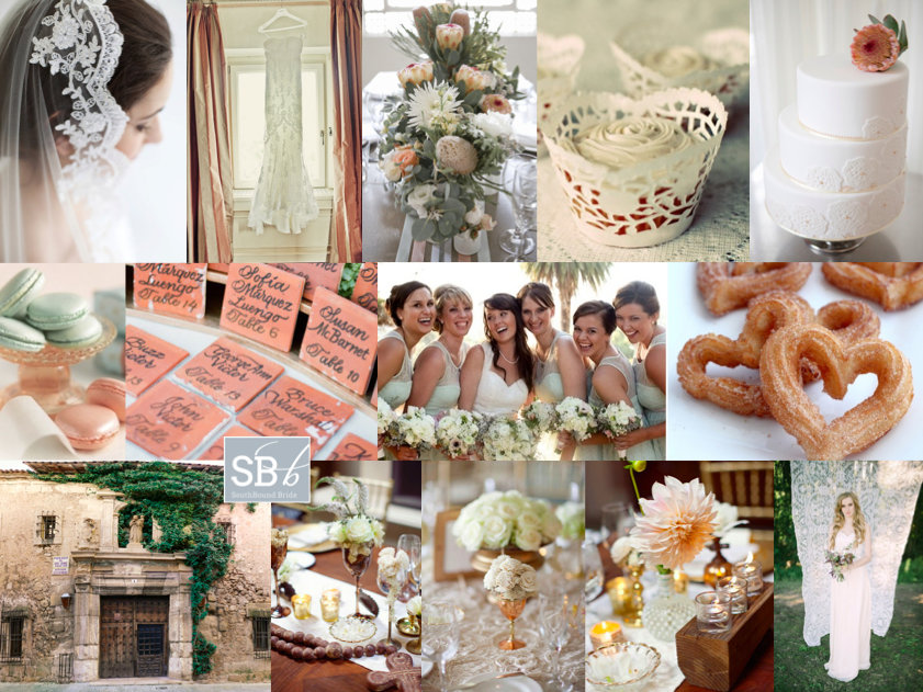 Inspiration Board: Spain Meets South | SouthBound Bride