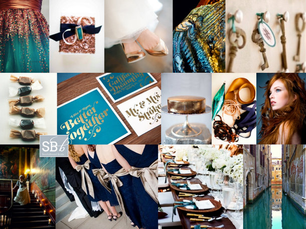 Inspiration Board: Carnevale | SouthBound Bride