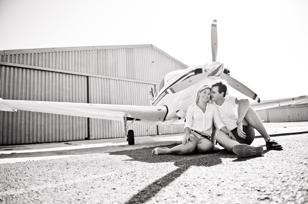 Come Fly With Me Engagement Shoot | SouthBound Bride