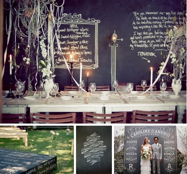 Words as Wedding Decor | SouthBound Bride