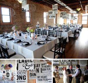 southboundbride-words-wedding-decor-typography-theme