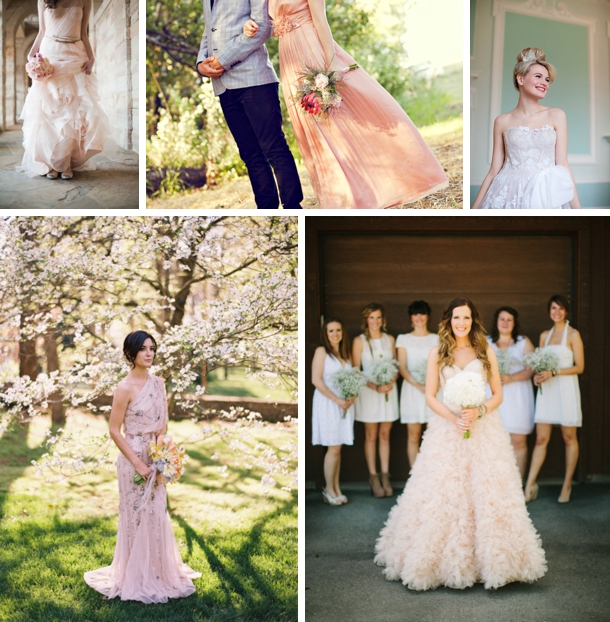 Coloured Wedding Dresses | SouthBound Bride
