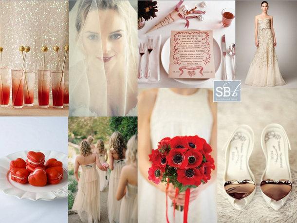 Inspiration Board: My Funny Valentine | SouthBound Bride