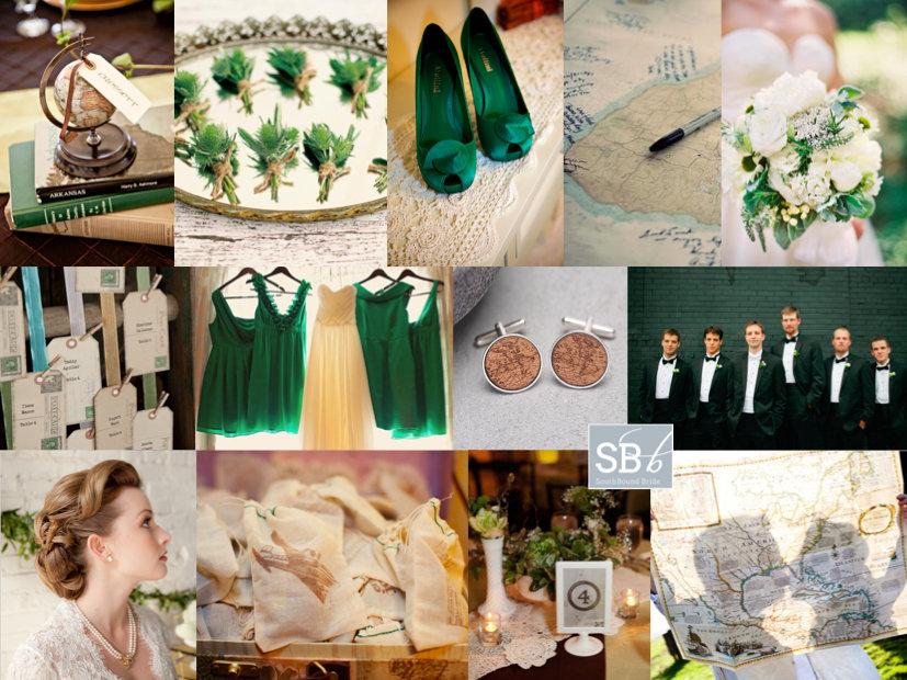 Inspiration Board: Bon Voyage | SouthBound Bride