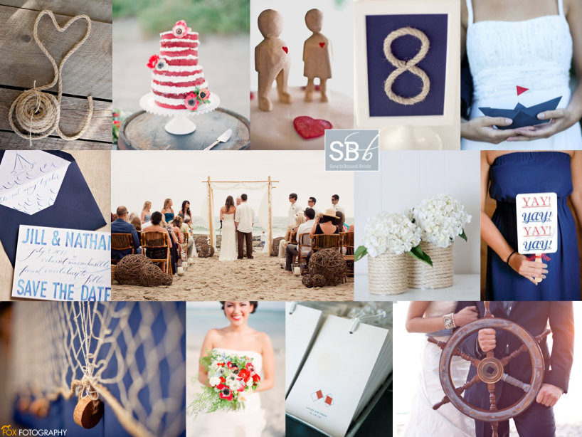 Inspiration Board: Nautical Rustic | SouthBound Bride