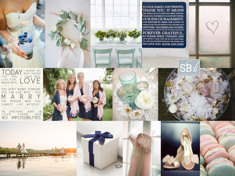 Inspiration Board: The Lake House | SouthBound Bride