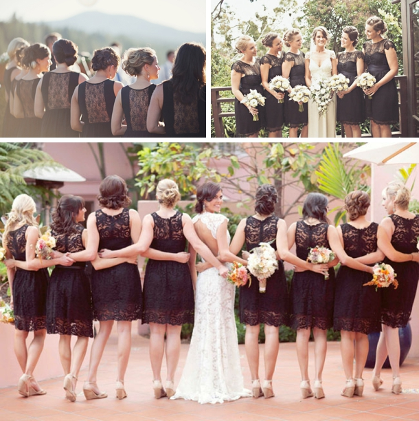 Lace Bridesmaid Dresses | SouthBound Bride