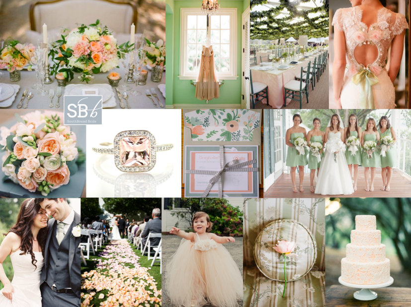 Inspiration Board: Green Gables | SouthBound Bride