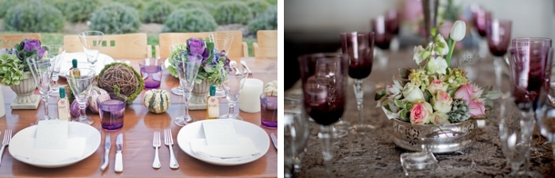 Coloured Glassware | SouthBound Bride