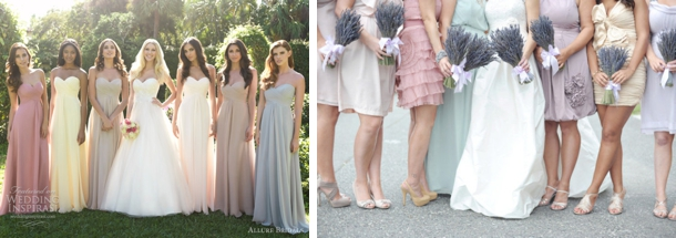Ice Cream Pastel Bridesmaid Dresses | SouthBound Bride