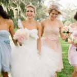 Ice Cream Pastel Bridesmaid Dresses